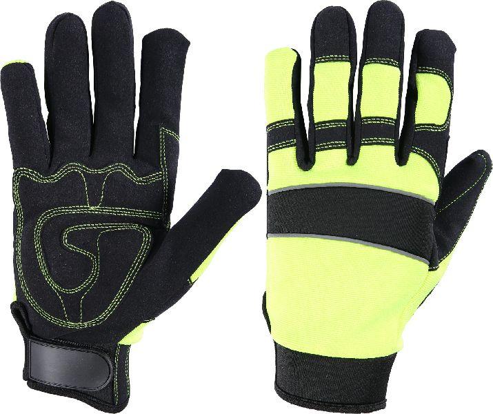 FH406CN Black Mechanic Gloves