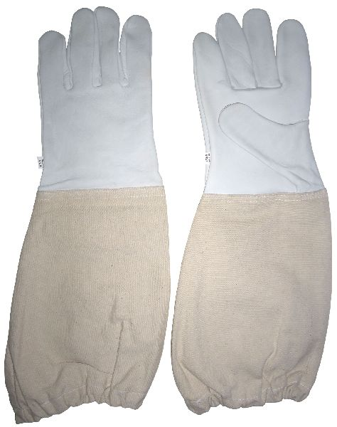 Beekeeping Gloves in Premium Goat Leather / Bee Keepers Protective Gloves in Goatskin / Bee Gloves, Bee Protective Gloves