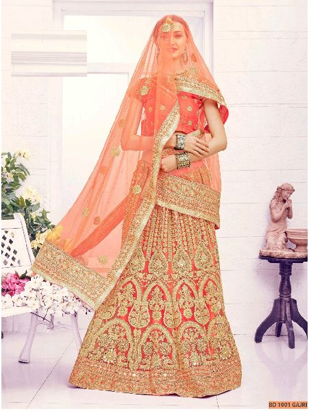 Gajri Collection Bridal Lehenga Choli