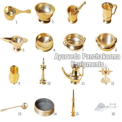 Ayurvedic Panchakarma Equipments