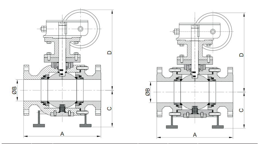 Graphical Images (ASME Class 1500 & 2500) (Full Bore)