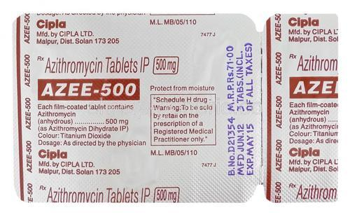 Azee-500 Tablets
