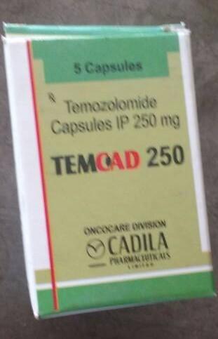 Temoad 250 mg Capsules