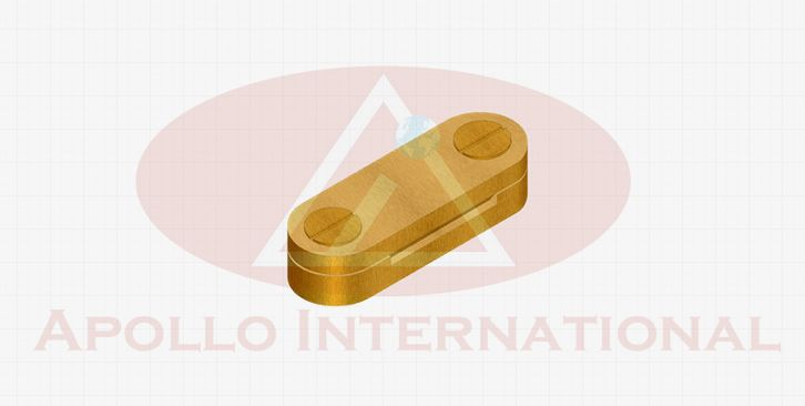 Brass DC Clip Earthing Clamp