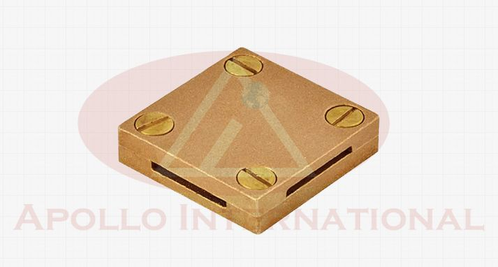 Brass Square Earthing Clamp