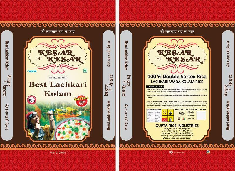 Keshar Hi Keshar Lachkari Kolam Rice 03