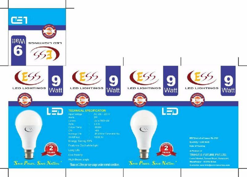 9 Watt LED Bulb 03