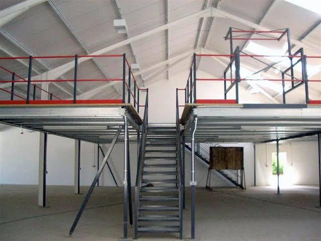 Heavy Duty Steel Mezzanine Floor 01