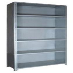 Three Side Closed Slotted Angle Rack 01