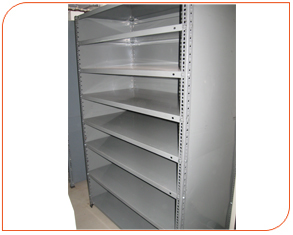 Three Side Closed Slotted Angle Rack 04
