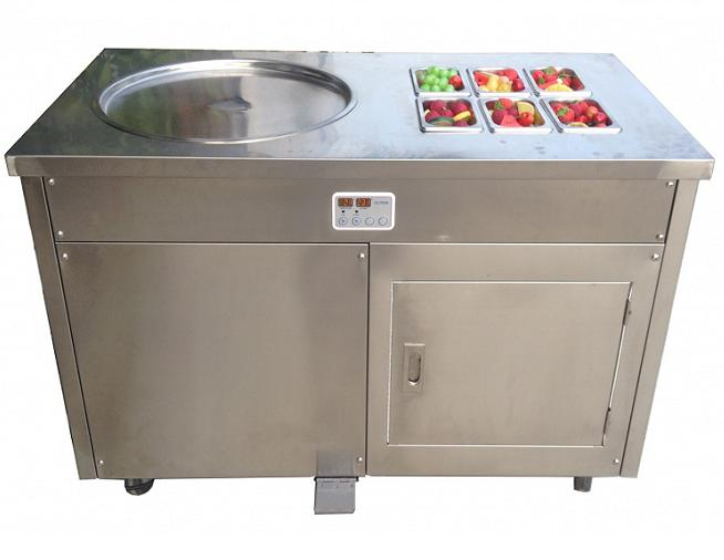Pan Fry Ice Cream Making Machine 02