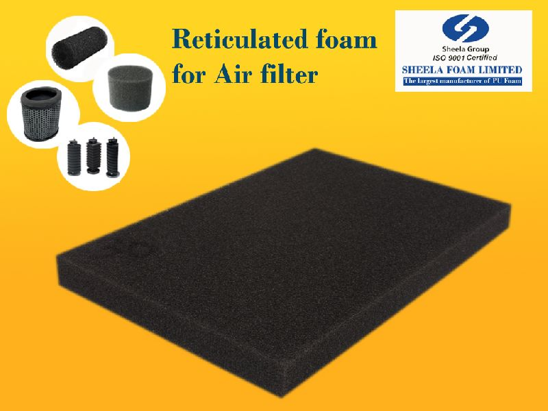 Air Filter Reticulated Foam Sheet 01
