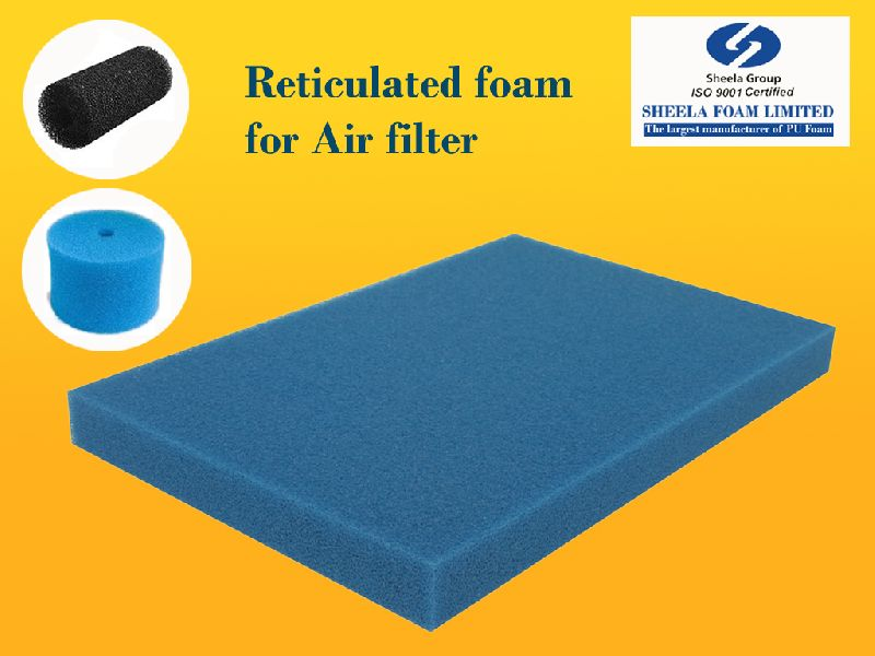 Air Filter Reticulated Foam Sheet 02