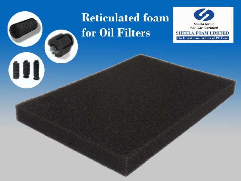 Oil Filter Reticulated Foam Sheet 01