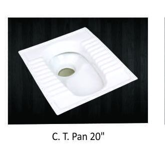 20 Inch CT Pan Toilet Seats