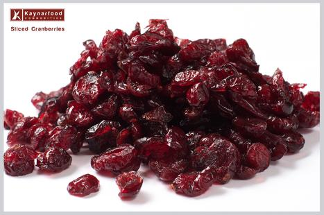Sliced Dried Cranberries