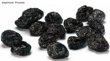 Unpitted Dried Prunes