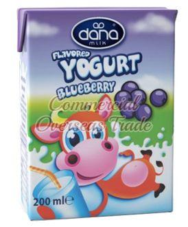 Dana Bluebarry Flavoured Yogurt Drink