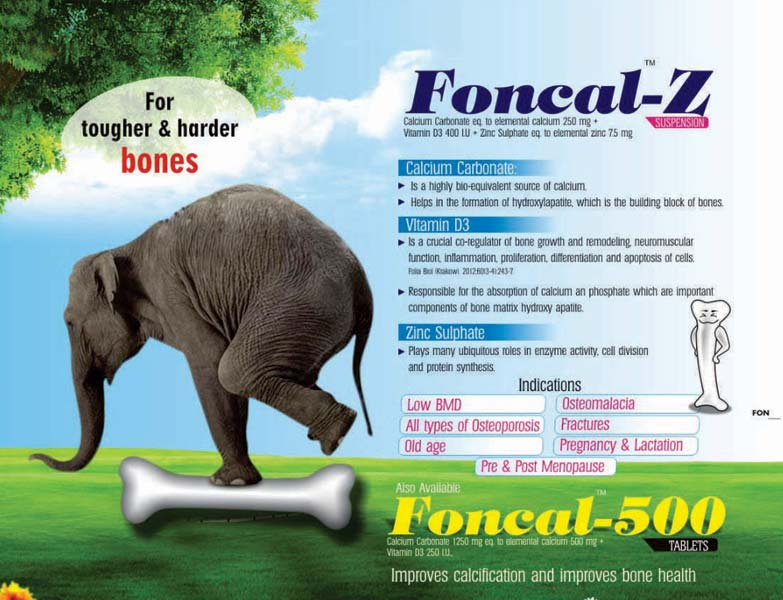 Foncal-Z Tablets