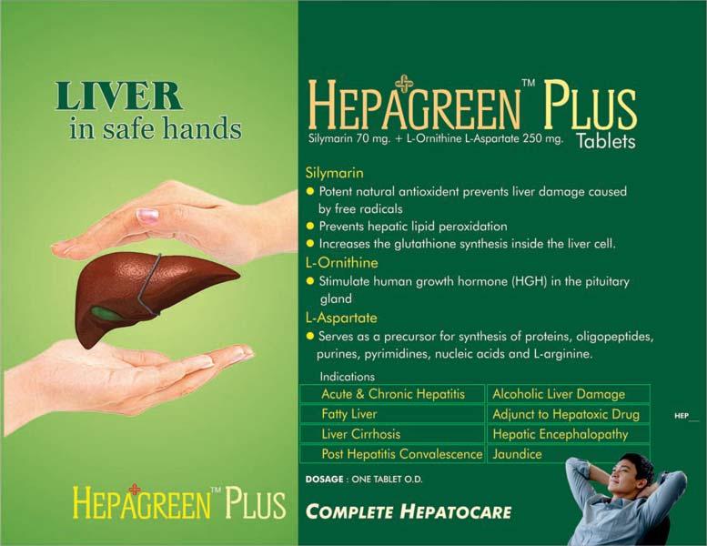 Hepagreen Plus Tablets