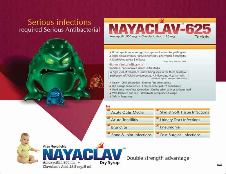 Nayaclav-625 Tablets