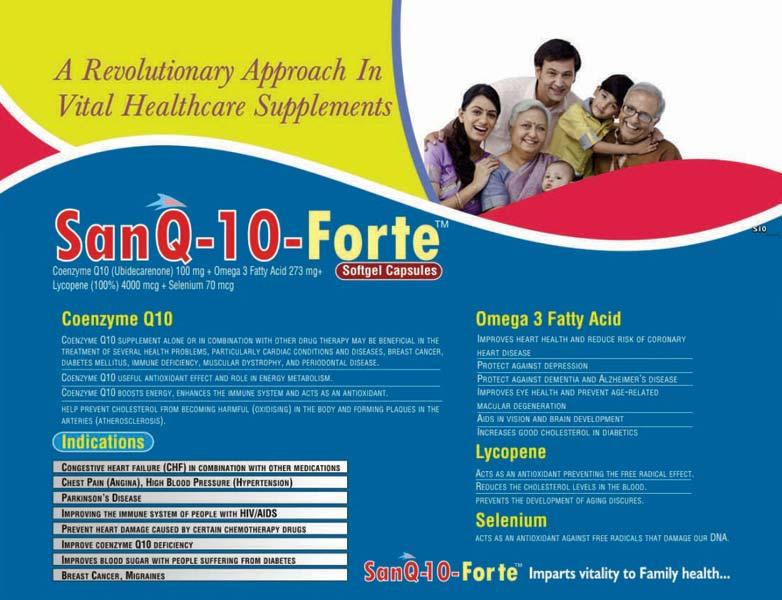 Sanq-10-Forte Softgel Capsules