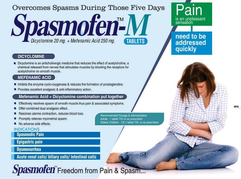 Spasmofen-M Tablets