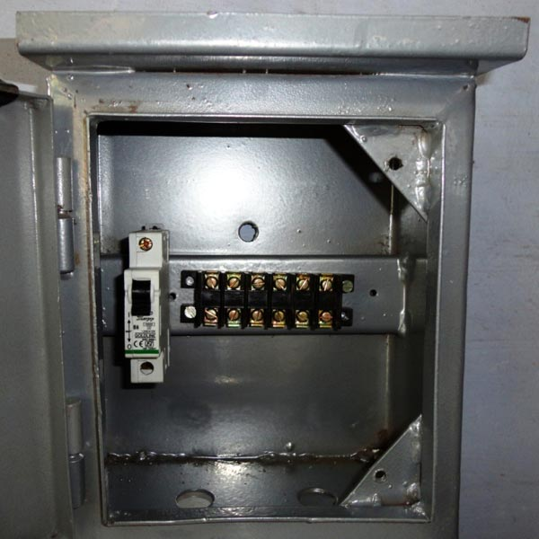 Street Light Pole Junction Box