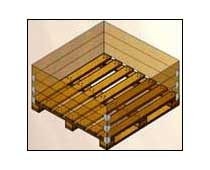 Four Way Pallets With Sleeve