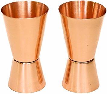 Copper Jigger Shot Glass 01