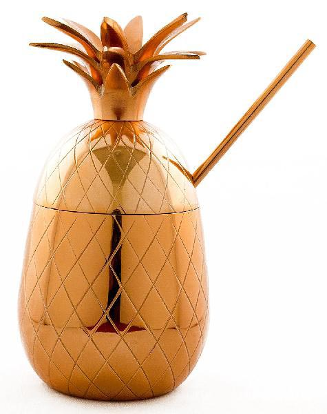 Copper Pineapple Mug 01