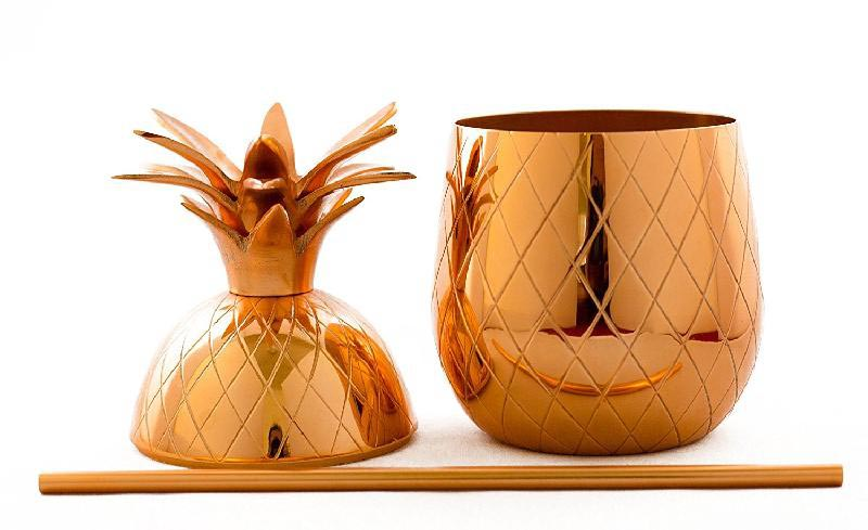 Copper Pineapple Mug 02