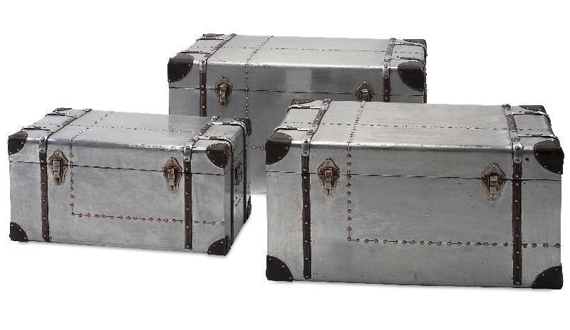 Galvanized Iron Storage Trunk 02