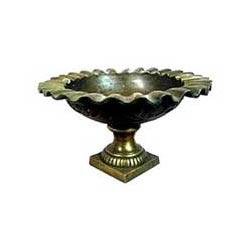 Metal Garden Urn