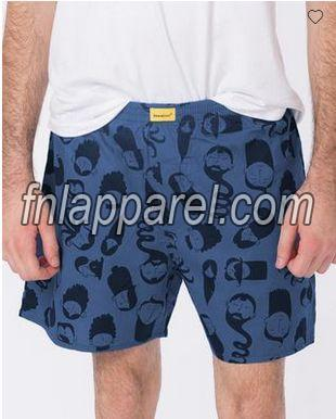 Mens Printed Boxer