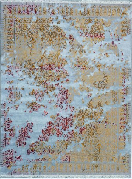 Hand Knotted Woolen & Silk Carpets