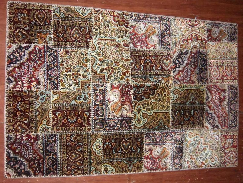 Hand Knotted Patchwork Carpets