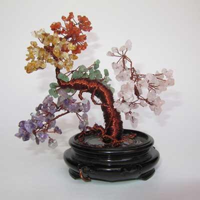 Gemstone Tree Sculpture