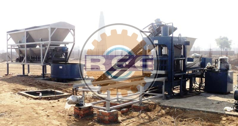Fly Ash Brick Making Machine (RBM-11)