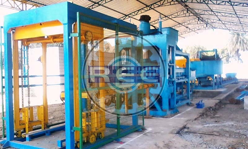 Fly Ash Brick Making Machine (RBM-30)