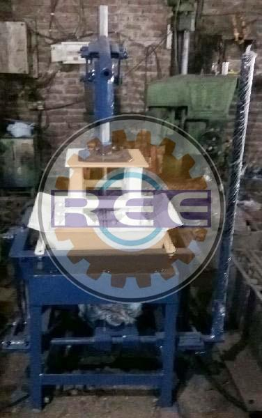 Manual Vibro Press Brick Making Machine