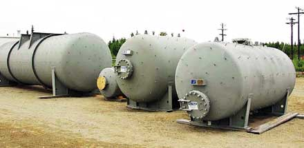 Blowdown Tanks