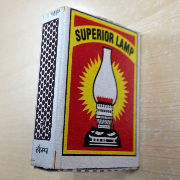 Premium Cardboard Match (Superior Lamp 96 40'S)