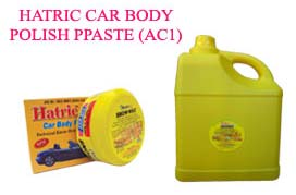 Hatric Car Body Polish Paste