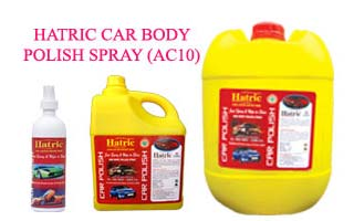 Hatric Car Body Polish Spray