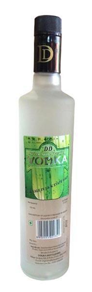 DD Green Apple Flavored Vodka