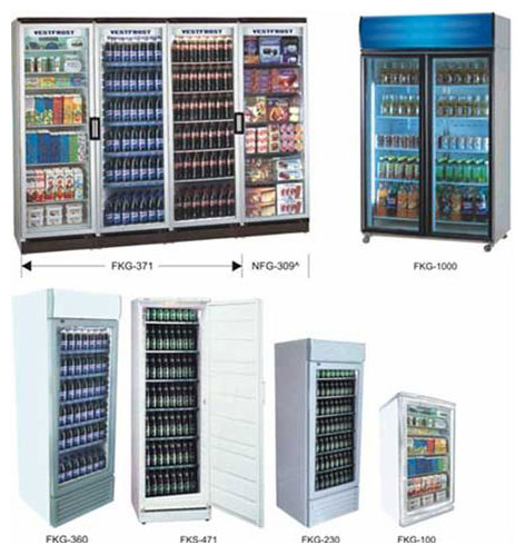 Beverage Display Freezer