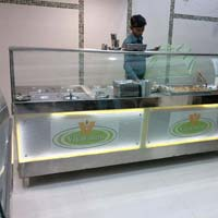 Snacks Display Counter 01