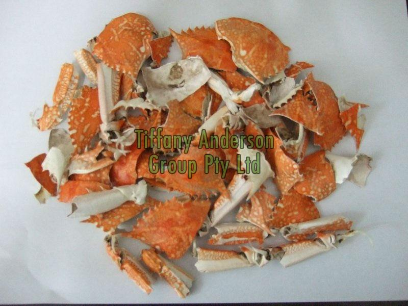 Dried Crab Shells