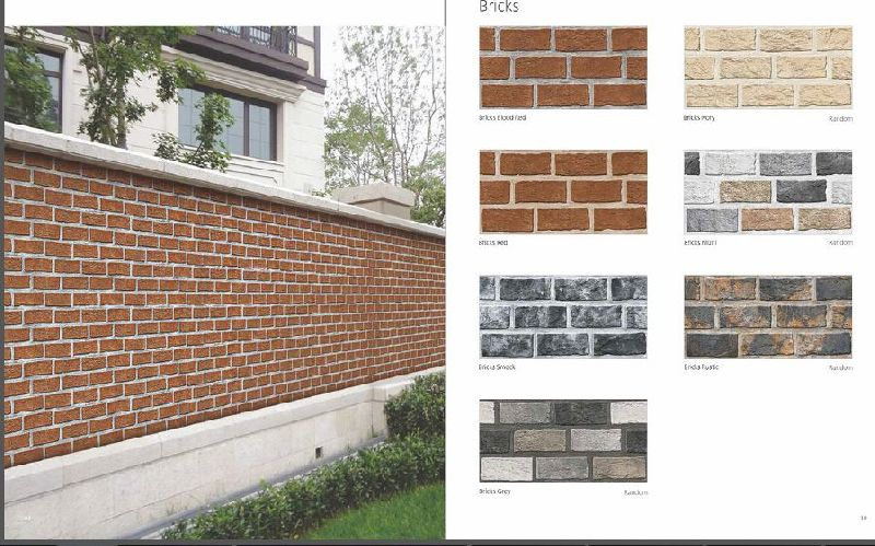 Bricks High Depth Elevation Tiles 01
